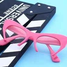 SOLO TU Personality Semi-Rimless Cat Eye Eyewear Frame Sunglasses Women Men Opti