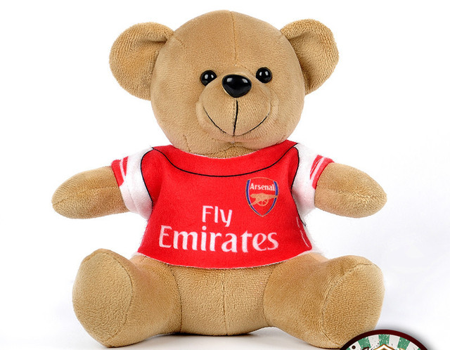 8973537f HOT Arsenal shirt teddy bear toy car decoration accessories soccer star  Ozil fans supplies automotive supplies