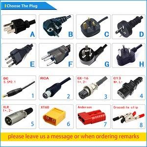 Image 5 - Cargador de batería Lifepo4, 43,8 V, 4A, 12S, 36V, 38,4 V, salida de CC, 43,8 V, con ventilador de refrigeración, envío gratis