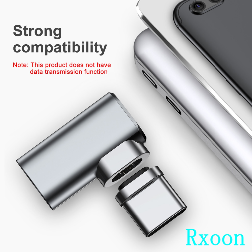 Baseus mini magnetic Type-c to Type-c adapter for apple macbook pro Charger converter universal Mobile phone fast charging 3A s8