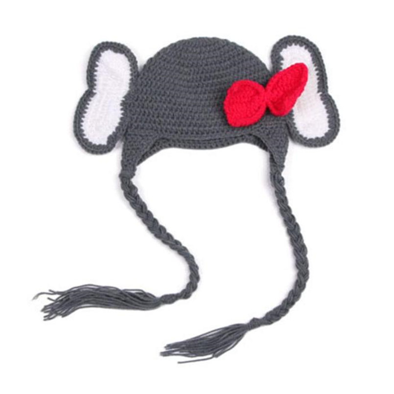 Knit Crochet Infant Baby Child Kids Rubber Duck Hat Beanie Newborn Photo Prop
