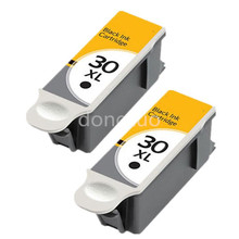 2BK Ink  Compatible For Kodak 30 XL Black & Colour Replace for ESP C110 C310 C315 Printer