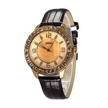 Shell Rhinestone Ladies's Watch Japan Quartz Hours Clock Positive Trend Costume Bracelet Leather-based Woman Birthday Reward Field 379