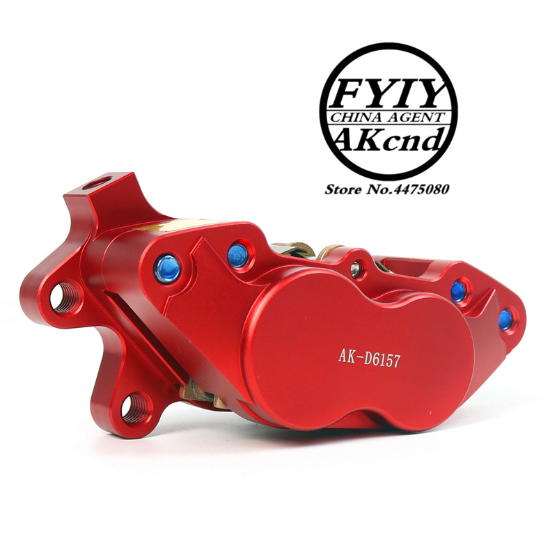 AKCND Universal CNC Motorcycle 40mm Brake Calipers For yamaha vespa gts msx125 bws smax pcx nmax moto Racing Dirt bike Scooter in Brake Shoe Sets from Automobiles Motorcycles