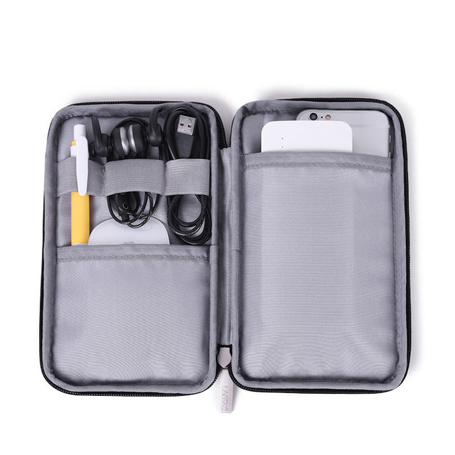 Travel Storage Bag Kit Data Cable U Disk Power Bank Electronic Accessories Digital Gadget Devices Divider Organizer Containers 5