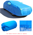 for subaru forester subaru xv impreza grey blue solid waterproof two layer car covers Dust snow anti uv cover of car four season