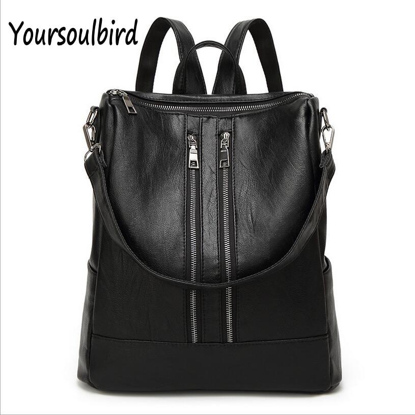 Free shipping 2017 new Backpack School Bag female Korean wind female fashion ladies casual bag backpack