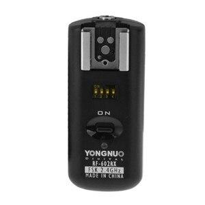Image 2 - YONGNUO RF 602/N YONGNUO RF 602 RF602 RF 602 2.4 GHz אלחוטי מרחוק פלאש טריגר לניקון D5100 D90 D700 D3 + משלוח חינם