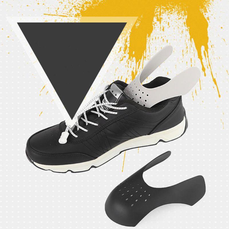 2018 1 пара защитных щитков для обуви, защита для кроссовок, защита от складывания, спортивная обувь с открытым носком, дышащие аксессуары