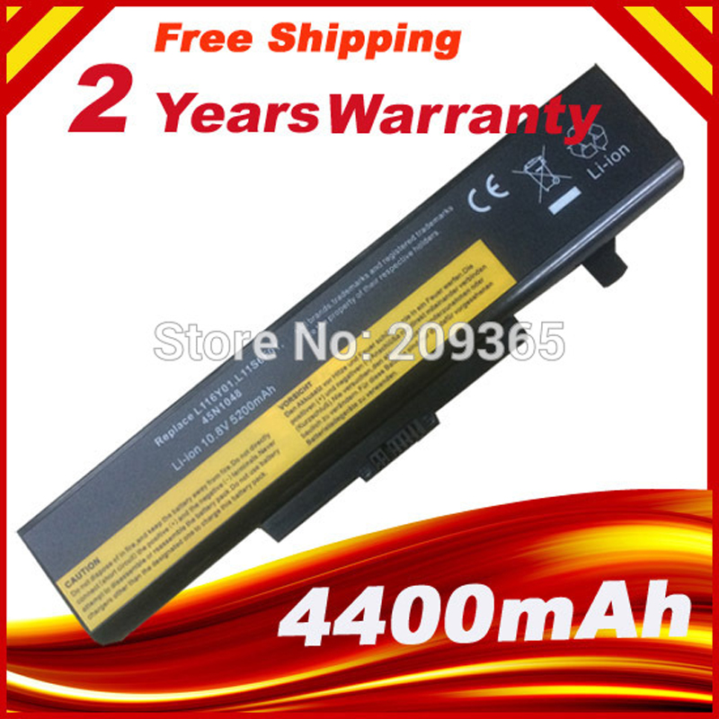Batterie pour lenovo ideapad y480 g480 g580 v580 l11l6f01 l11l6r01 l11l6y01 l11m6y01 l11n6r01 l11n6y01 l11p6r01 l11s6f01