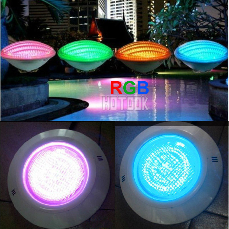 24w Led Swimming Pool Light Ip68 12v Rgb 333 Leds Outdoor Lighting Underwater Pond Nicho Niche For Liner Ce Rohs In Lights From