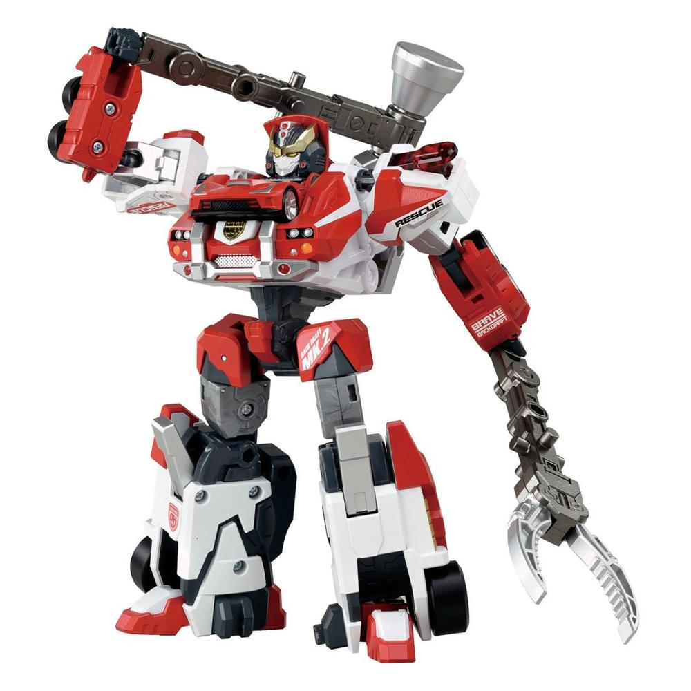 TOMY Tomica Hyper Rescue Drive Head 02 MKII Brave Backdraft