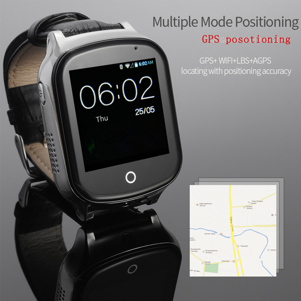 3G Smart GPS Tracker Watch Elderly Kids 3G Wristwatch WIFI Locator With Camera Voice Message SOS Free APP For IOS Android Phone smart baby watch q60s детские часы с gps голубые