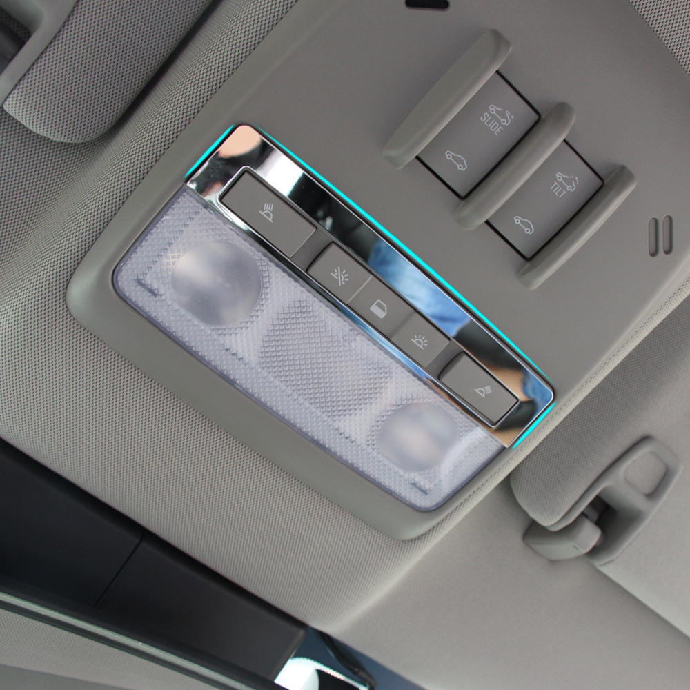 Car styling stainless steel interior decoration cover for for Insignia interior design decoration