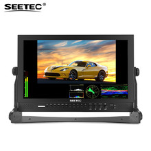 Seetec P173-9DSW 17.3 Inch FHD 1920x1080 Broadcast Monitor with 3G-SDI HDMI Waveform Vector Scope LCD Director Monitor(China)