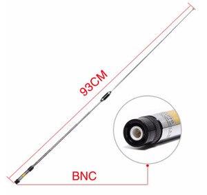 Image 3 - Deux segments 144/430 MHZ antenne à gain élevé tige de traction pour ICOM IC V85 IC V80 IC V8 par kenwood TK308 talkie walkie