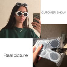 FREE SHIPPING 2018 Vintage Small Oval Sunglasses JKP875