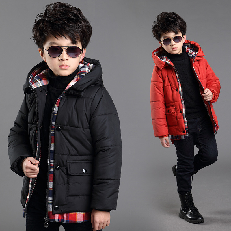 Free shipping new arrival children's wear quilted jacket cotton-padded jacket in winter Boy upset hooded boy coat in a climate of fear political process and parliamentary elections in chechnya