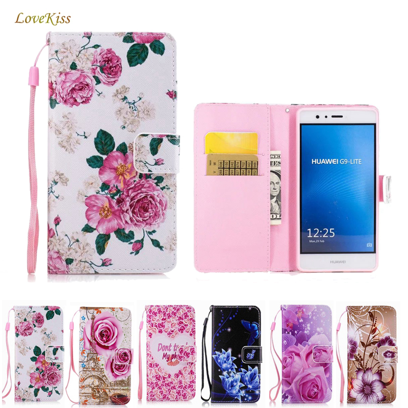 <font><b>Flip</b></font> Phone <font><b>Case</b></font> For Huawei P10 P20 P8 P9 Lite Mini 2017 P Smart Mate 10 <font><b>Honor</b></font> 8 9 Lite 5A 6A 6X 7X 6C <font><b>7C</b></font> Pro Y5 II Shell Cover image