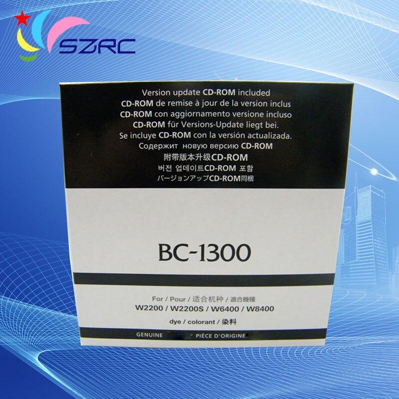 New Original BC-1300 Printhead for canon w2200 w2200s w8400 w6400 BC1300 Print head new original print head printhead compatible for canon bc 30e 30e s400 400 ps s450 4500 bjc 6500 printhead