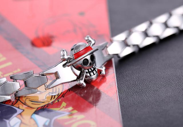 One Piece Anime Bracelet Unisex Cosplay Bangle
