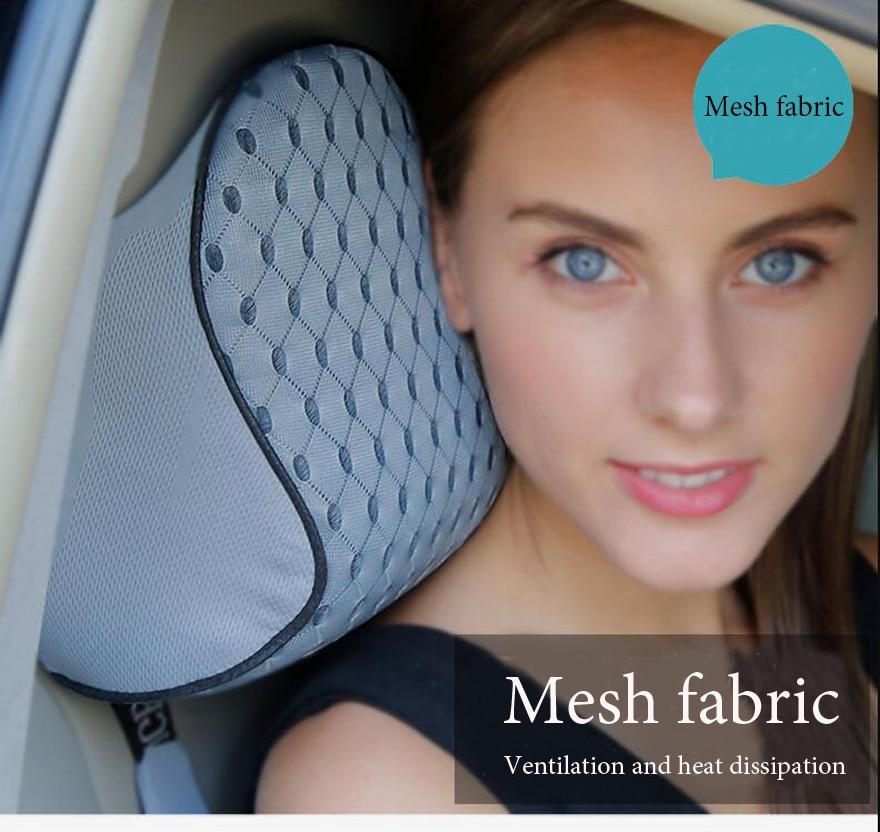 HTB1f41Eev5TBuNjSspmq6yDRVXay High Quality Car Cushion Set Memory Foam Car Lumbar Support Set Back Lumbar Neck Pillow Seat Cushion for Driving Office Home