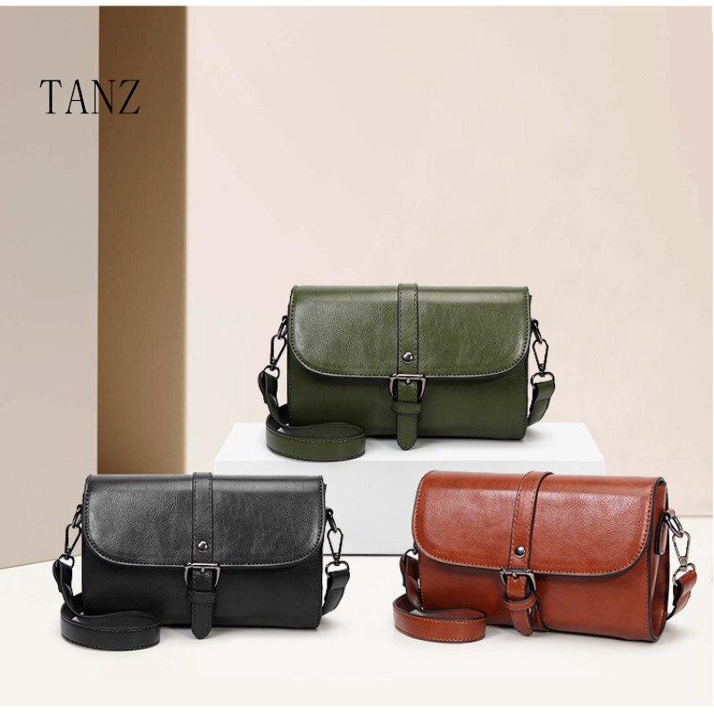 TANZ PU bag single shoulder bag Ms. Messenger Bag 2018 Ms. Mobile Phone Bag Mobile Phone Clutch for iphone x 6plus 7plus