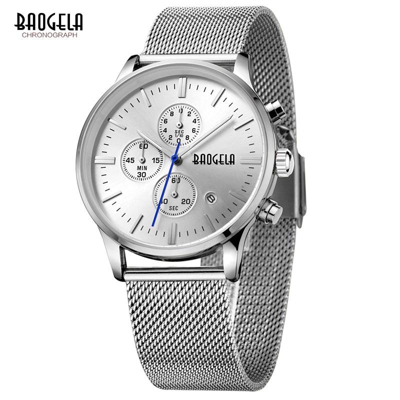 Baogela New Top Luxury Watch Տղամարդկանց - Տղամարդկանց ժամացույցներ - Լուսանկար 3
