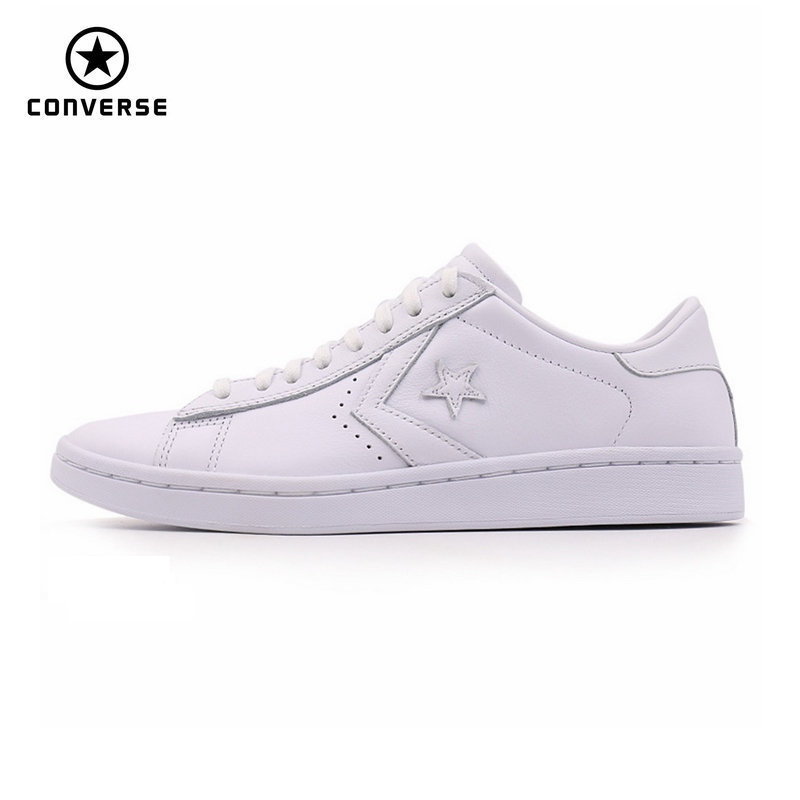 2017 new original Converse Star Player Leather womens sneakers white color Leather Skateboarding Shoes 555930C2017 new original Converse Star Player Leather womens sneakers white color Leather Skateboarding Shoes 555930C