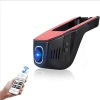 Hidden Super FHD 1080 P WIFI Car DVR Dash Cam Night Vision On Board Camera Black