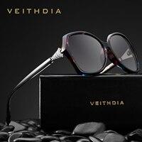 5ea5e47f6 VEITHDIA Retro Womens Sun Glasses Polarized Luxury Crystal Ladies Brand  Designer Sunglasses Eyewear For Women Female