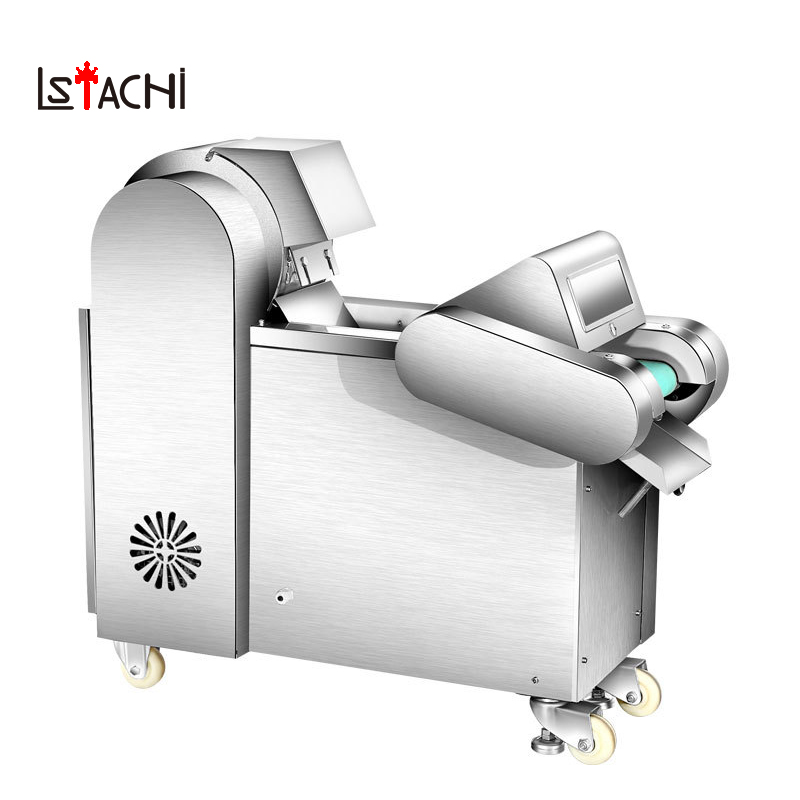 LSTACHi Automatic Commercial Electric Slicer Household Meat Vegetable Fruit Sausage Slice Machine Large Slicers Free Shipping