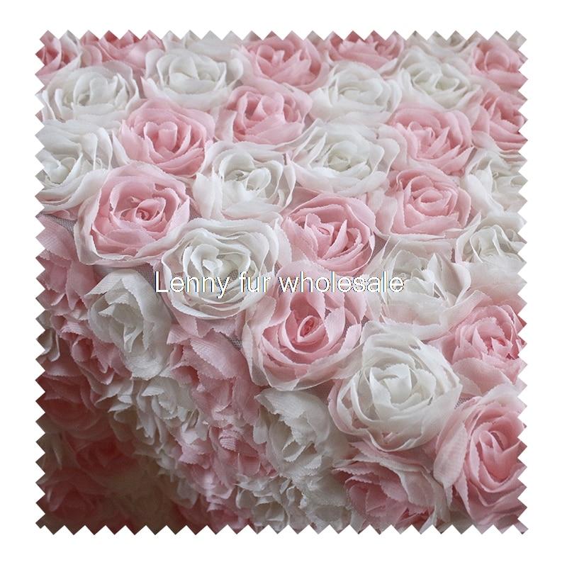 Tecido de design rosa, material de vestido