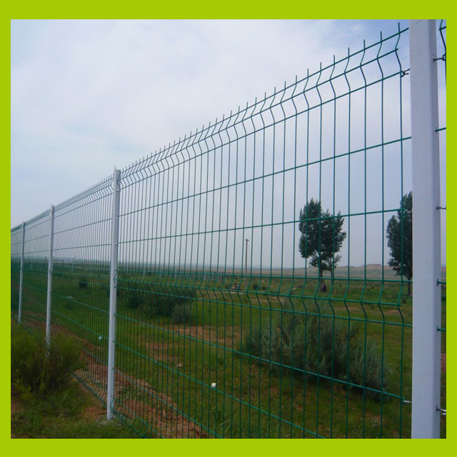 3 Bending Wire Mesh Fence, 3.8mm Wire Diameter After Coated, With ...