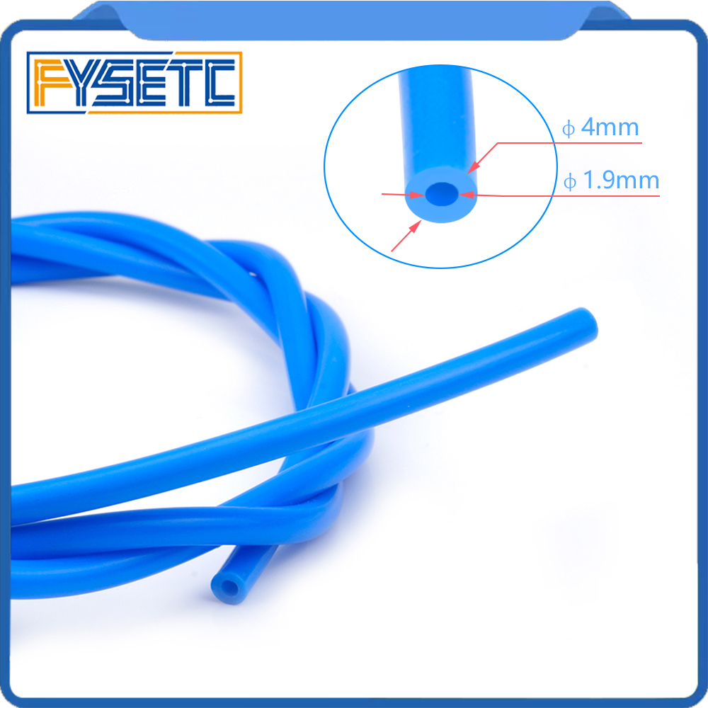 5M PTFE Tube Teflonto TL-Feeder hotend RepRap Rostock Bowden Extruder 1.75mm Filament ID 1.9mm OD 4mm Cloned Capricornus Tube 10pcs 3 2mm small damper 10pcs mimaki jv33 dx5 damper 10pcs damper tube adapter 5m 4 2 5mm tube 5m 4 3mm tube 5m 6 4mm tube