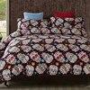 3D Skull Halloween Twin Bedding Set Skull Home Textile Bedspread Queen Bed Duvet Cover Set Luxury