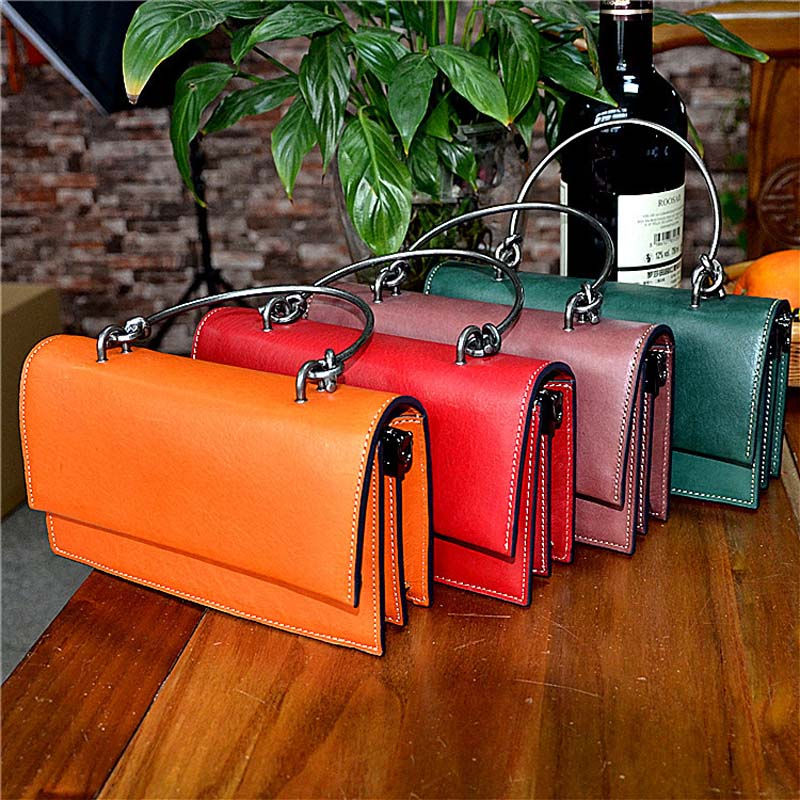 AETOO New first layer cowhide handbag exquisite retro bag vegetable tanned leather bag handbagAETOO New first layer cowhide handbag exquisite retro bag vegetable tanned leather bag handbag