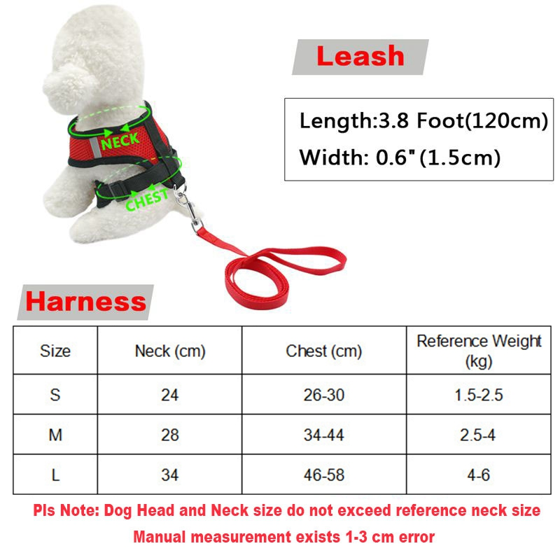 2017-Dogs-Harness-Leash-Lead-Collar-Nylon-Mesh-Vest-Porducts-For-Dog-Pet-Shop-Accessories-Supplies (1)