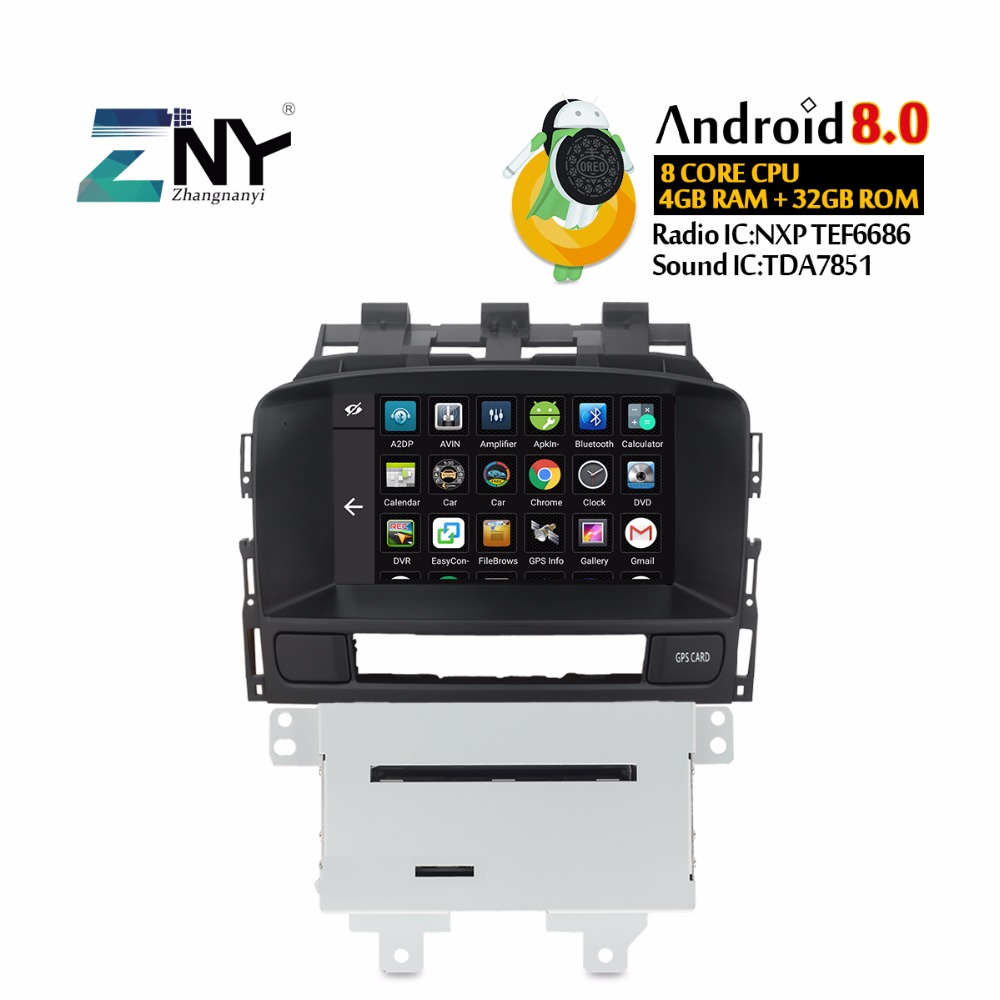 Ips screen 4+32g android 8. 0 car multimedia player head unit for.