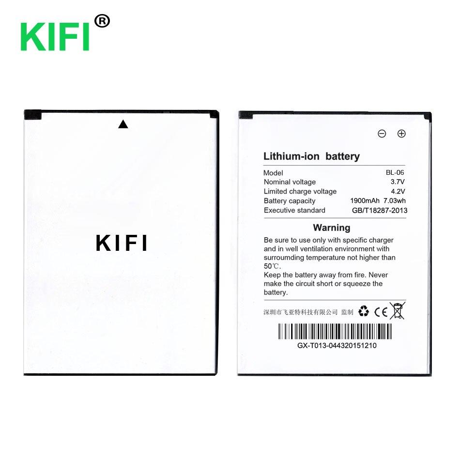 Kifi qc 100% pass bl-06 1900 мАч Аккумуляторы мобильных телефонов для <font><b>THL</b></font> T6 T6s <font><b>T6C</b></font> T6 Pro