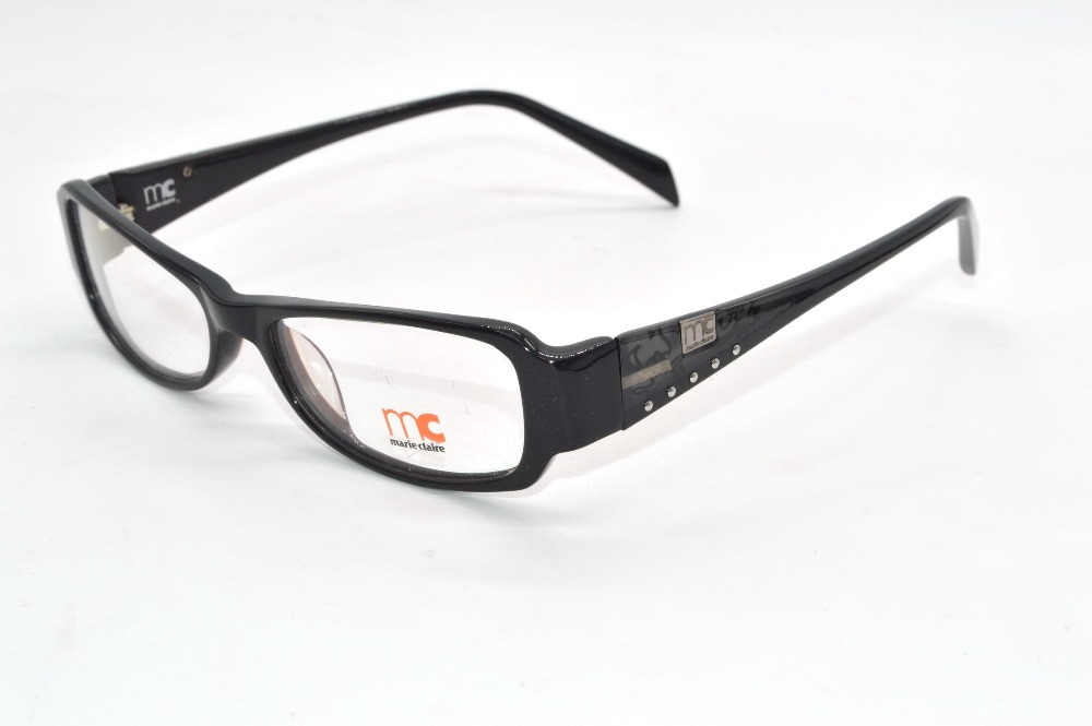 classic style acetate frames womens black custom made prescription nearsighted or reading