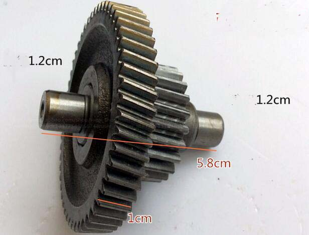 Automobiles & Motorcycles Electric Tricycle Car 71 Tooth Package Shaft Assembly Differential Gear Box Tooth Bag Pinion Double Gear