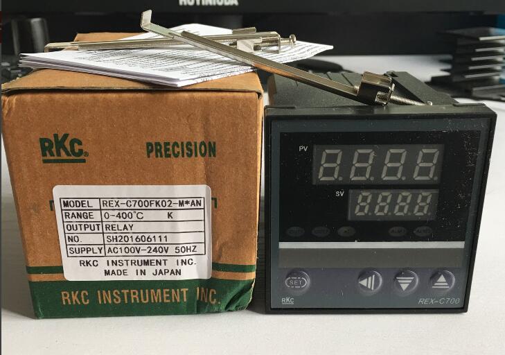 Dual Digital RKC display pid-temperaturregler REX-C700FK02-M * EINE Thermoelement/PT100 Eingang Relaisausgang 72*72mm
