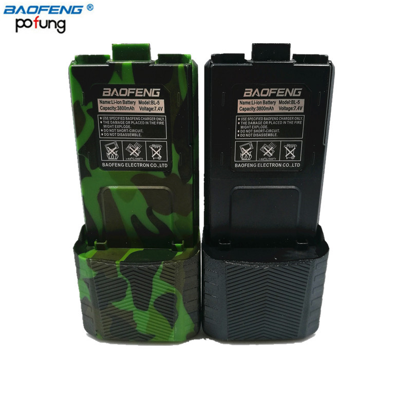 BaoFeng UV-5R BL-5L 3800mAh Li-ion High Capacity Spare Battery For Baofeng UV-5R UV-5RA UV-5RE DM-5R Plus Walkie Talkie UV5R