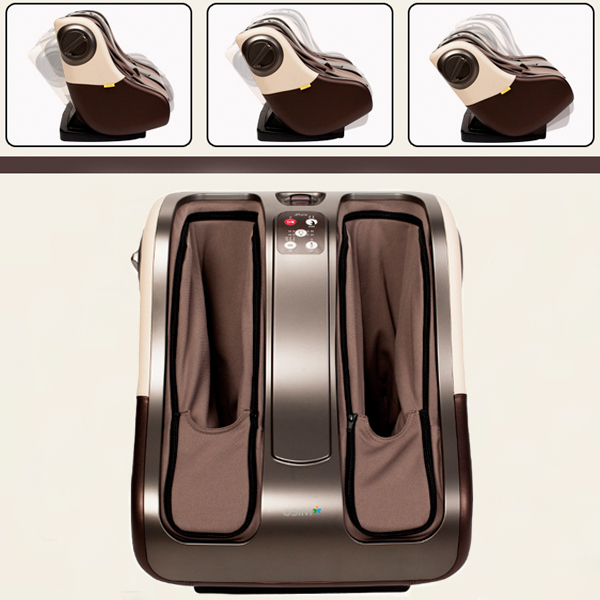 2015 NEW Present!! Free Shipping Luxury Full Feet Massager Electric Shiatsu Foot Massage Machine Foot Care Device foot machine foot leg machine health care antistress muscle release therapy rollers heat foot massager machine device feet file