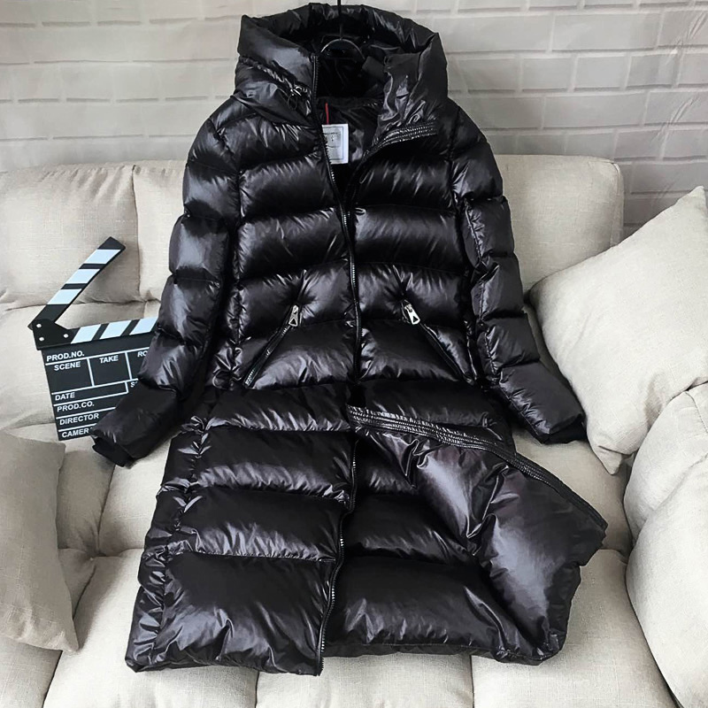 Winter Jacket Women   Down     Coat   Female Thick 90% White Duck   Down   Jacket Womens Long   Coats   Warm Hooded Clothes 2019