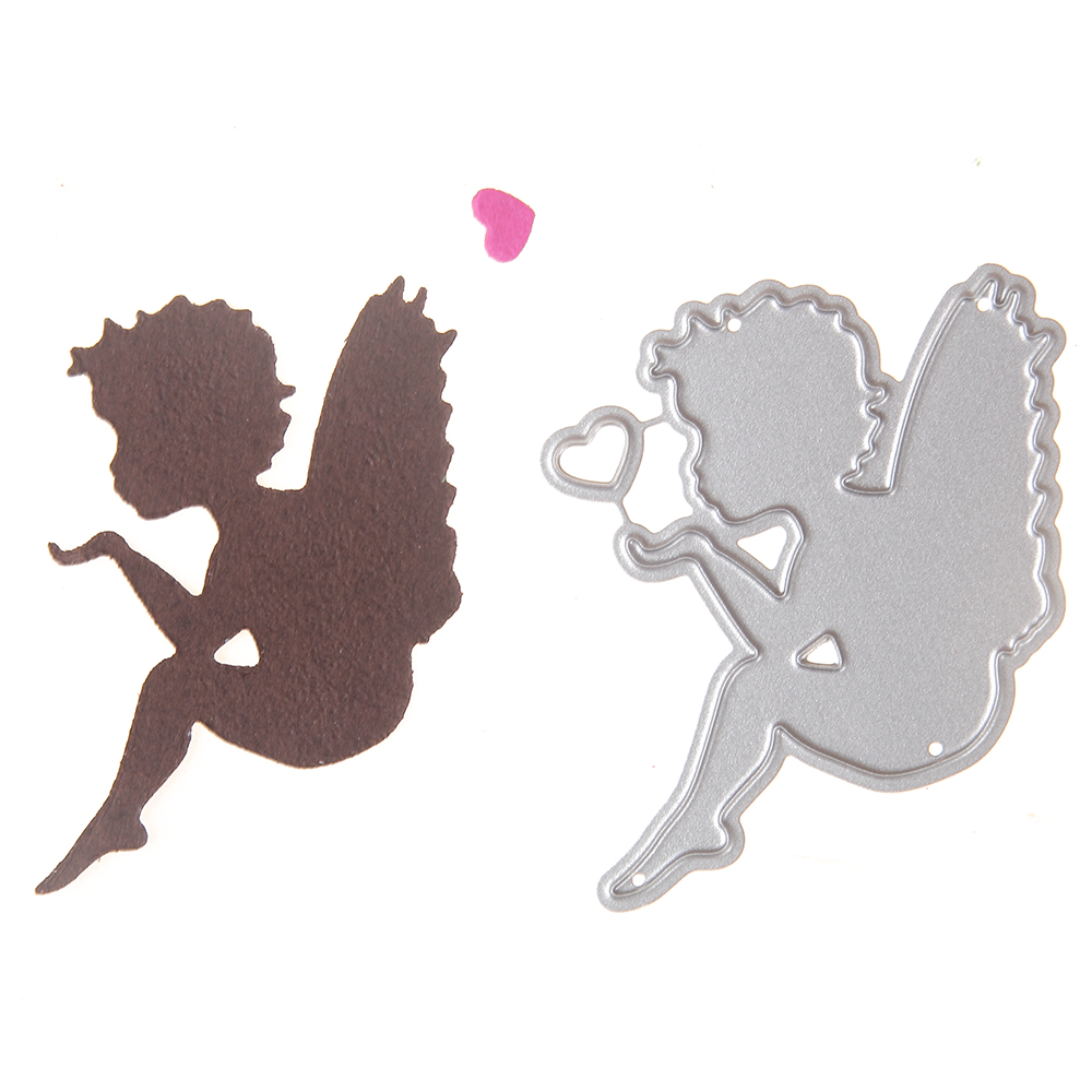 54*46mm Metal steel cutting die new scrapbooking DIY angel baby frame Shape flower Shape Book photo album art card Dies Cut