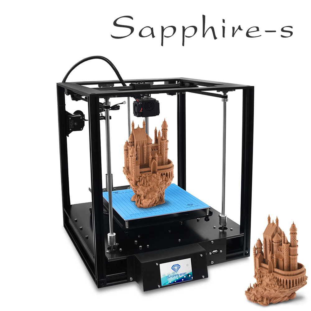 High Accuracy CoreXY Sapphire S Remote Feeding Stampante 3d Titan Extruder Desktop 3d Printer Acrylic Shell Metal Structure 3dHigh Accuracy CoreXY Sapphire S Remote Feeding Stampante 3d Titan Extruder Desktop 3d Printer Acrylic Shell Metal Structure 3d