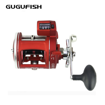 GUGUFISH Left/Right Hand 12 Ball Bearing Fishing Reel High Speed Fishing Reel New drum ACL with counter fishing reel