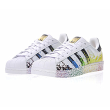 Authentic Adidas Clover Superstar Gold Label Shoes